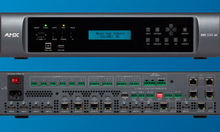 AMX BY HARMAN ANNOUNCES NEW ENOVA DVX ALL-IN-ONE PRESENTATION SWITCHERS